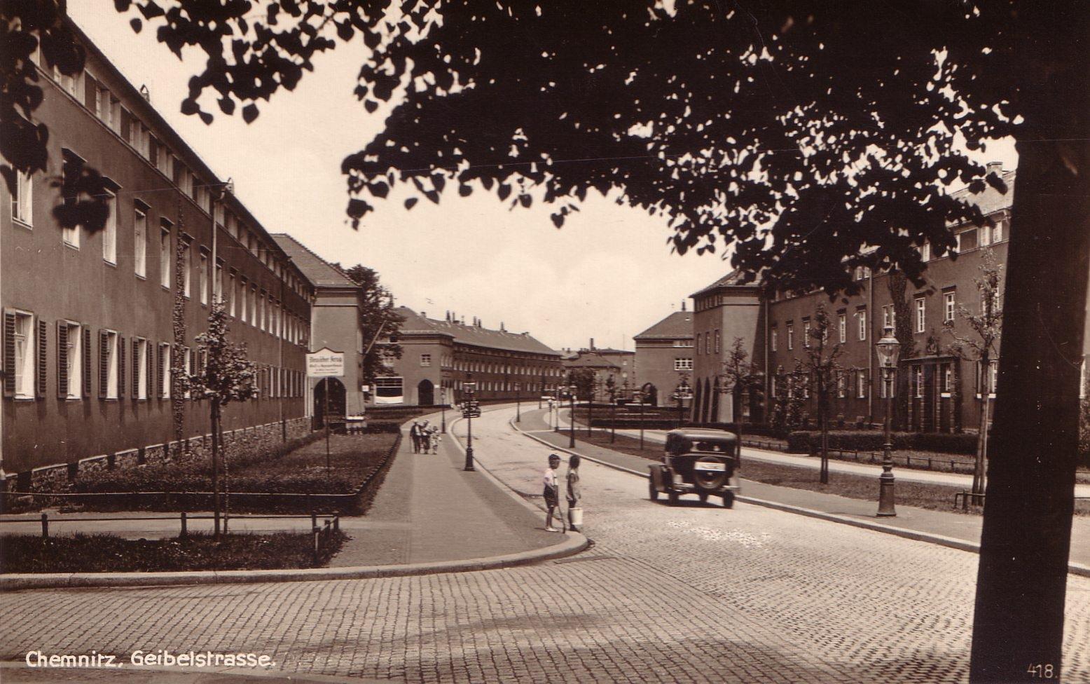 alte bilder von chemnitz historische gartenstadt gablenzsiedlung erhalt denkmalgesch tzter. Black Bedroom Furniture Sets. Home Design Ideas