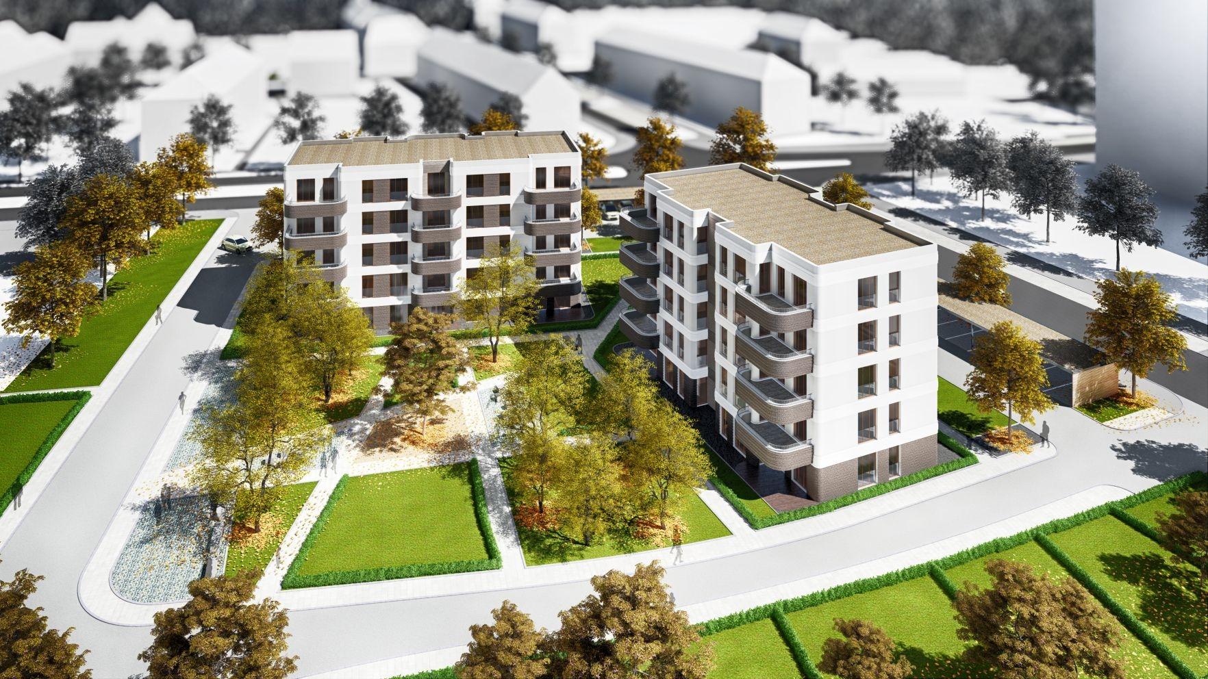 Neubau in Chemnitz-Gablenz: Ahornhöfe. Barrierefreier Aufzug ...